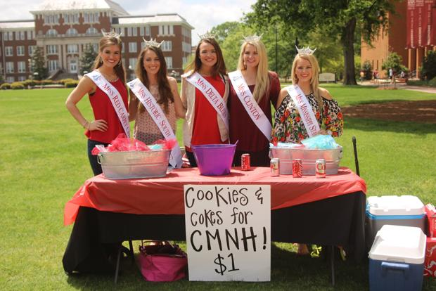 cookies and cokes for CMNH