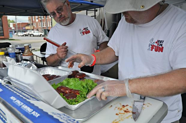 Barbecue chefs put their skills to the test