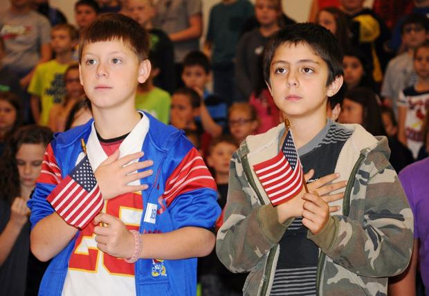 A special day for veterans in Paola
