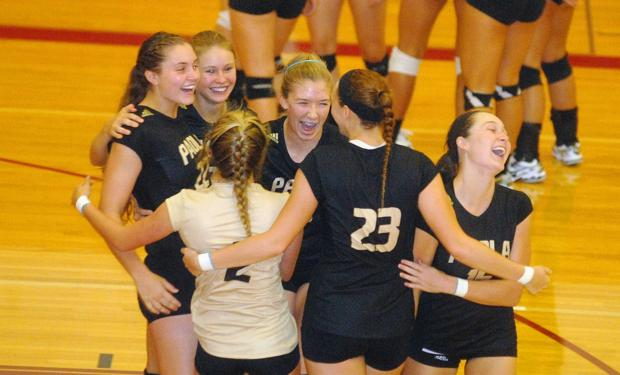 Lady Panthers place fourth in league volleyball tournament
