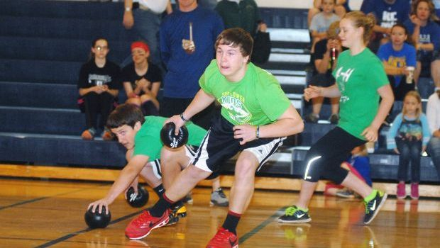 Dodgeball fun for a good cause