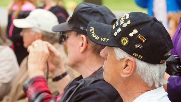 Vietnam War veterans honored during Sunday ceremony