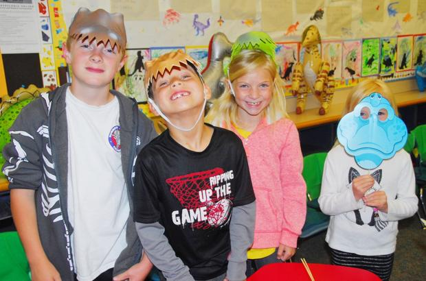 Families explore Cottonwood during Night at the Museum