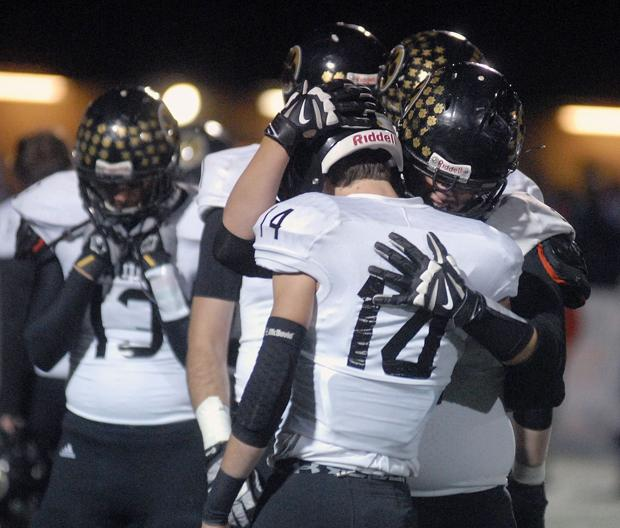 Panther football season ends against Bishop Miege in sectional playoffs