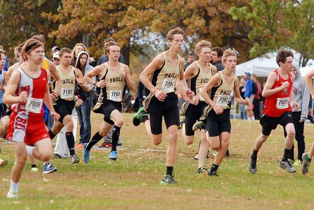 Paola Panther boys land six runners on Spotlight team