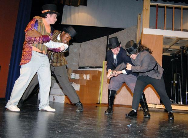 Theater students take on challenge of Twelfth Night