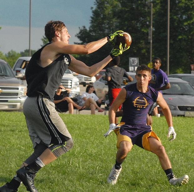 Panthers showcase talent during 7-on-7 scrimmages
