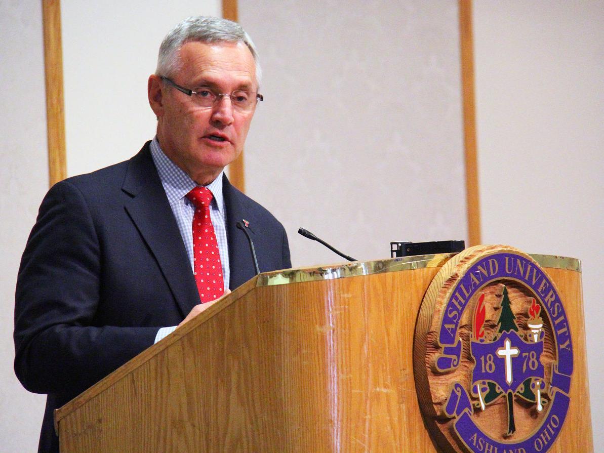 Tressel delivers keynote address at Ashland's Workforce Alliance Summit