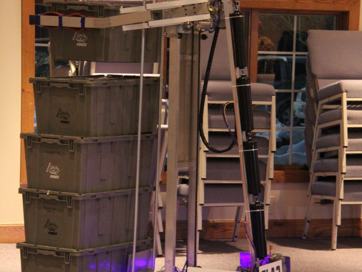 Stellar Robotics team ranks 3rd of 56 teams