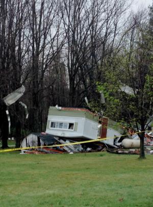 Bellville residence struck by storm