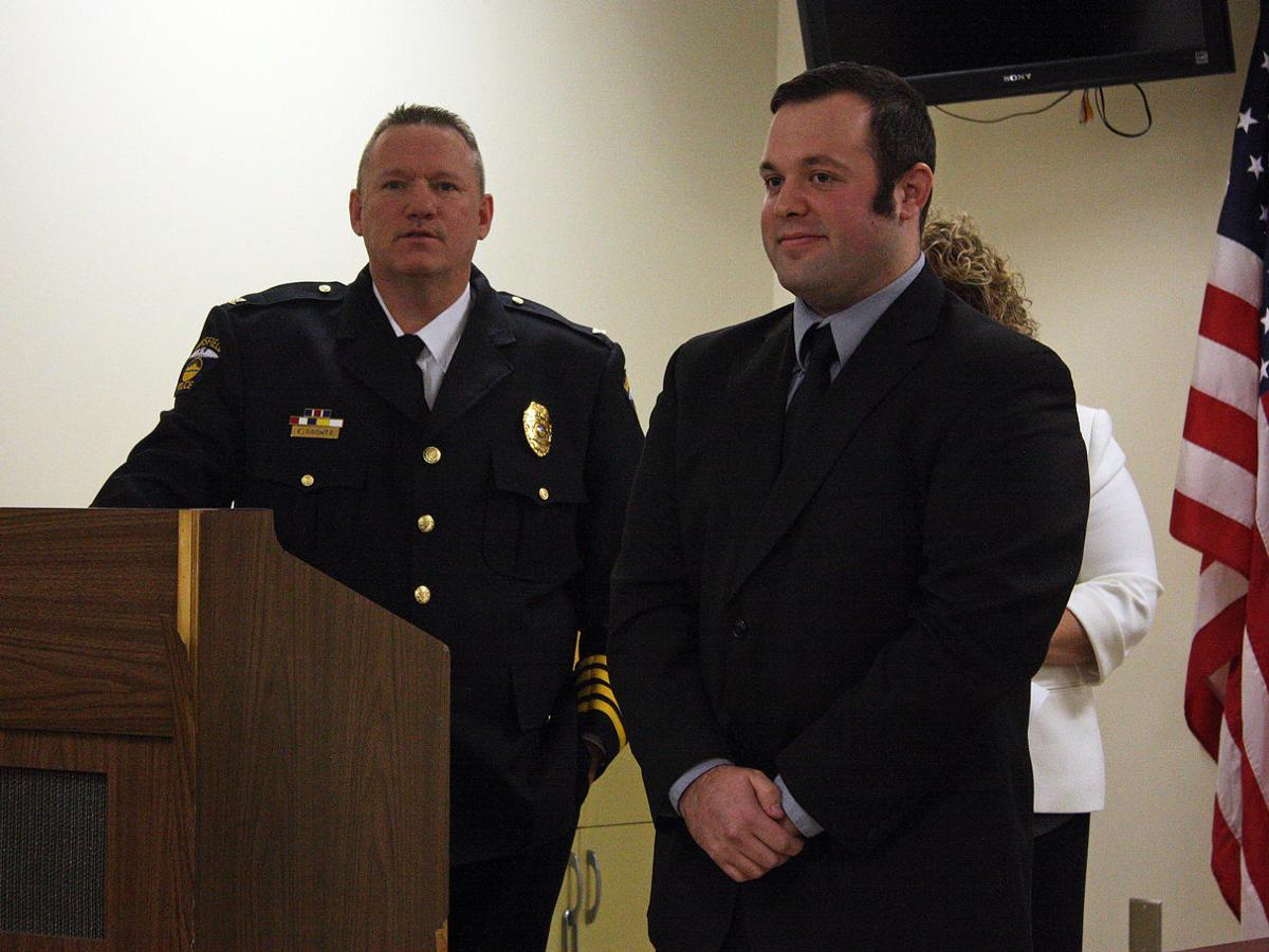 Mansfield Police Department adds new officer Justin Cikity