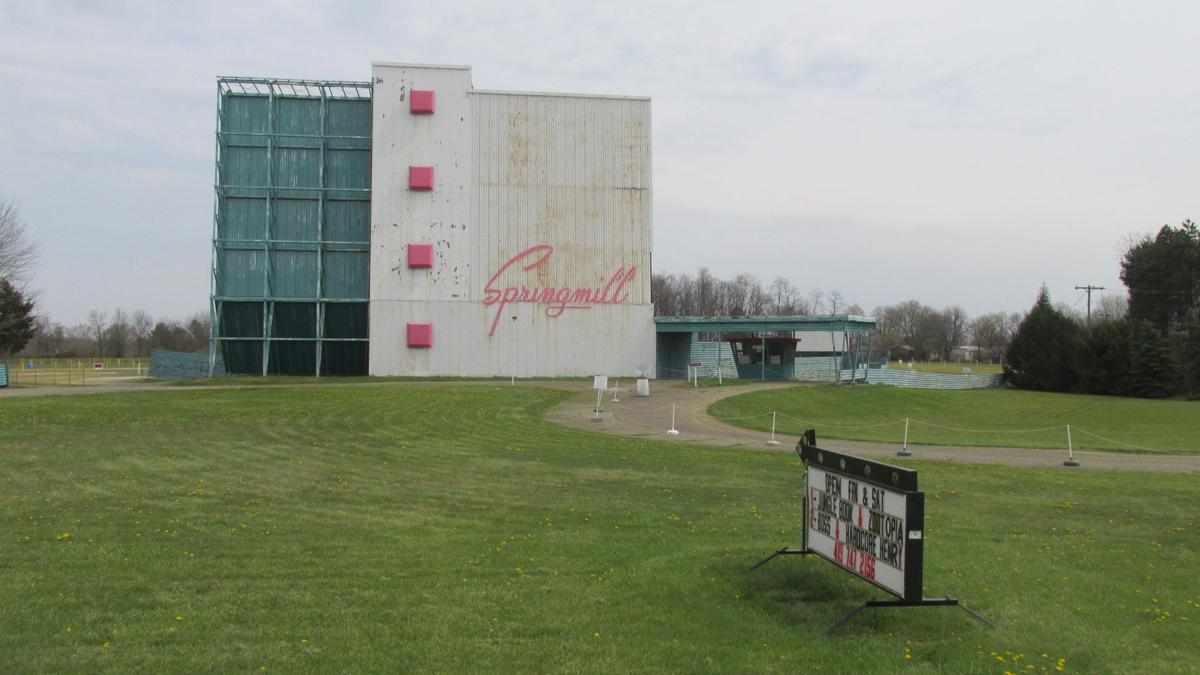 Springmill Twin Drive In Mansfield Oh