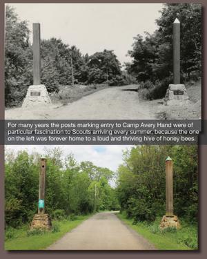 Entering Scout Camp/Ohio Bird Santuary
