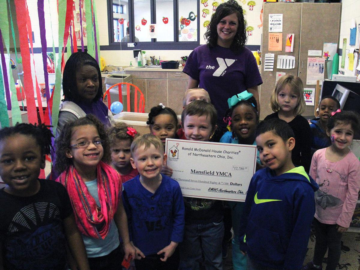 McDonald's gives back to Mansfield YMCA