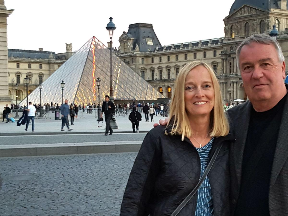 Mansfield couple in Paris during attacks