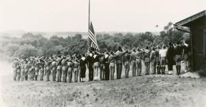 Scouts at site of future Ohio Bird Sanctuary