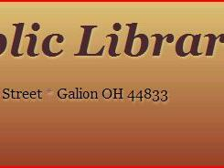 """""""Food for Fines"""" offered at Galion Public Library"""