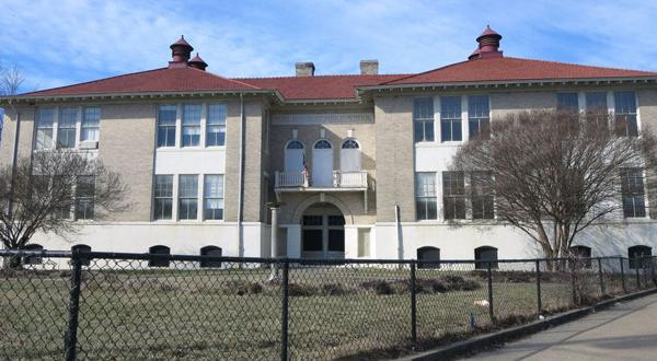 <p>The original Highland Park Public School, which was converted into senior housing in the early 1990s, will be renovated into 77 apartments for low-income seniors.</p>
