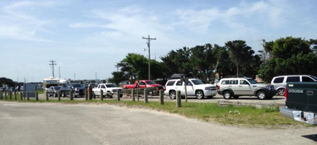 Ocracoke before Hurricane Arthur