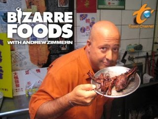 Travel Channel S Bizarre Foods America With Andrew