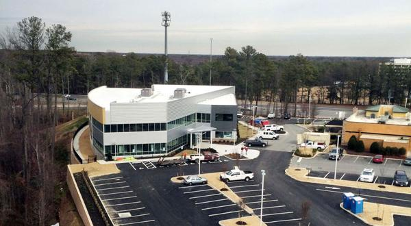<p>First Tennessee Bank is relocating its Richmond headquarters into the Reynolds Crossing building at 6627 W, Broad Street in Henrico County. The building is nearing completion. The bank will occupy space on the second floor. Sheltering Arms is taking the entire first floor.</p>