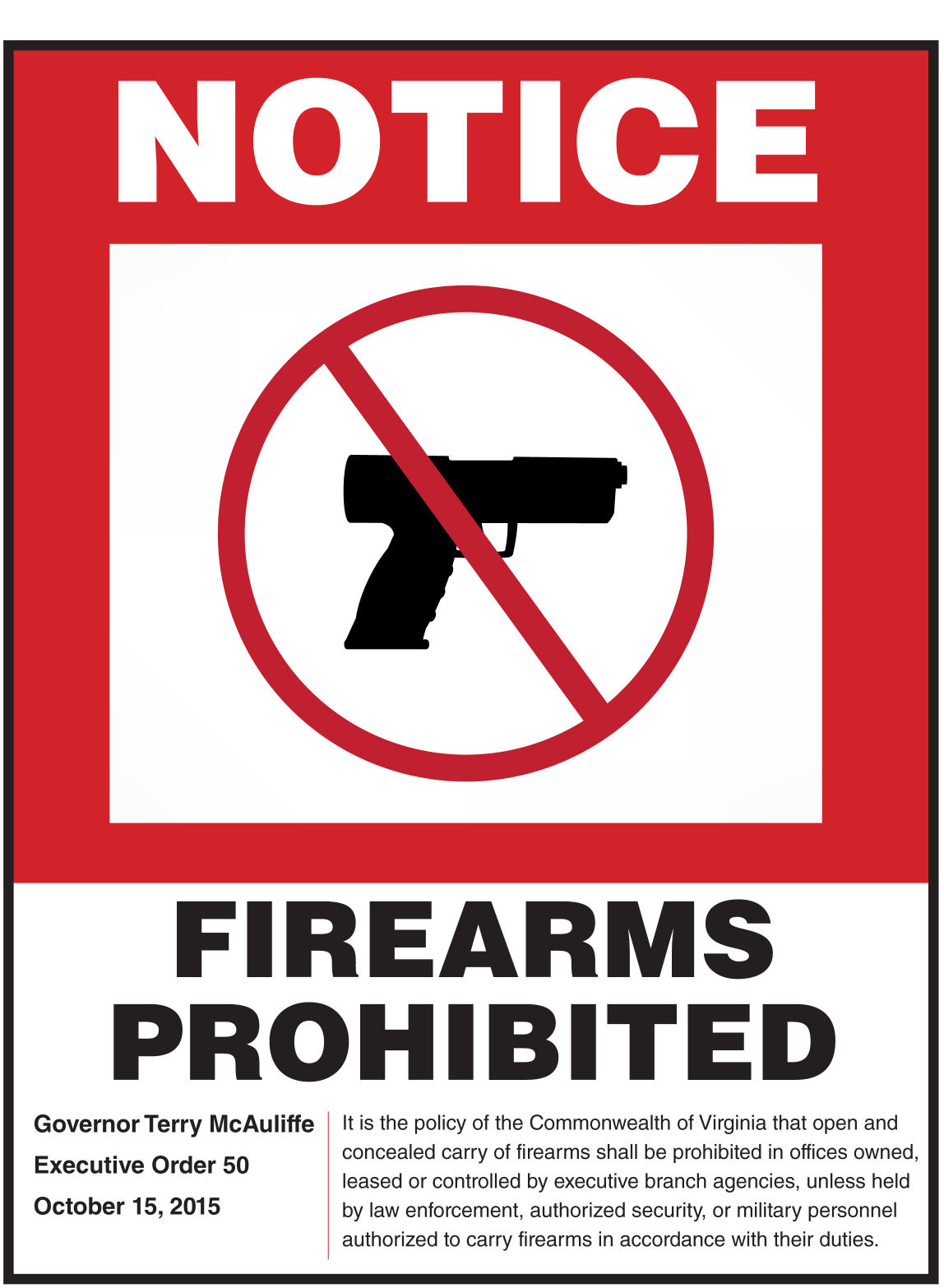 Ban on concealed guns in state offices takes effect, but ...