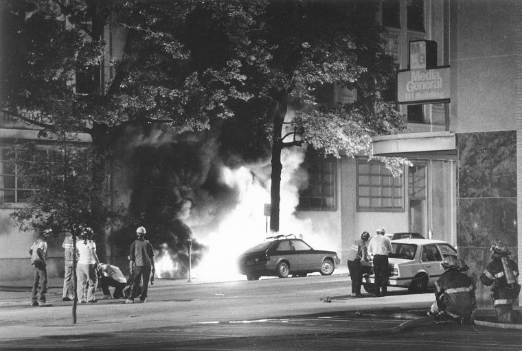 Times-Dispatch and Richmond News Leader fire, 1989