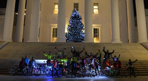 PHOTOS: Bike Tacky Light Tour