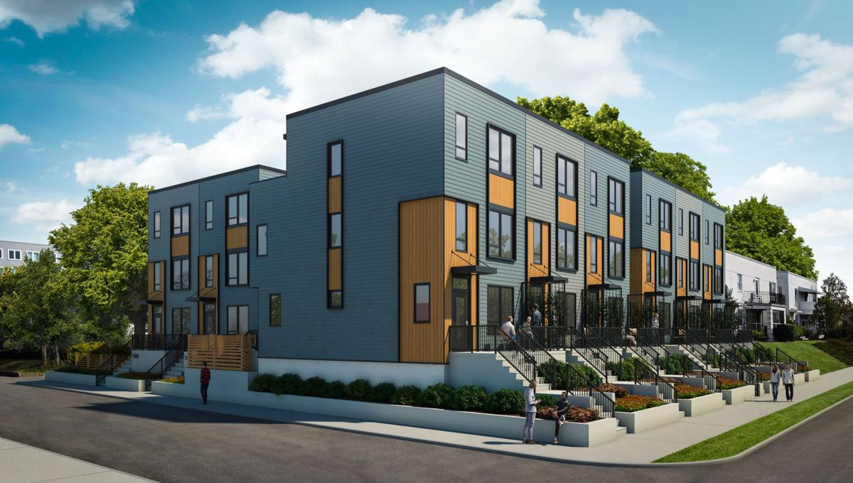 Modern Row Houses To Go Up Near Museum District Scott S