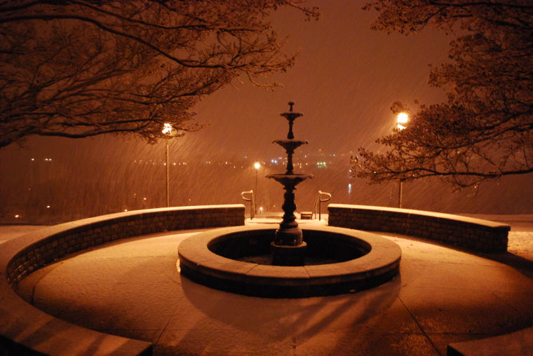 Night of Snow in Richmond