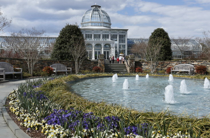 Lewis ginter botanical garden wins award richmond times dispatch entertainment Lewis ginter botanical gardens