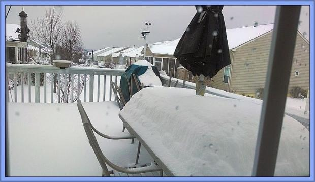 Fredricksburg snow