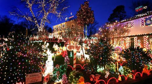 Top five stops for Tacky Lights