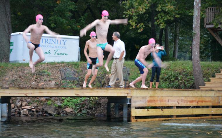 Photos Trinity Students Swim To School Day Richmond Times Dispatch Outdoor Recreation In