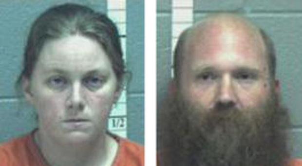 <p>33-year-old Lee Edward Oakes Jr. and 27-year-old Jerelyn Aymarie Sutter</p>
