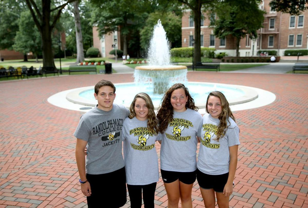 freshman quadruplets start college at randolph macon education freshman quadruplets start college at randolph macon
