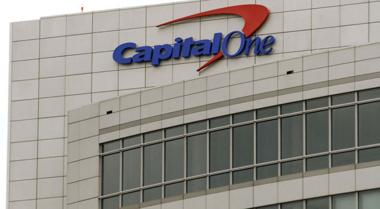 <p>The headquarters of Capital One Financial Corp. in McLean</p>