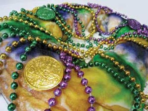 Mardi Gras party indoors at Lady N'awlins this year