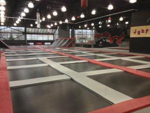 Jumpology indoor trampoline park has opened richmond for Indoor trampoline park design manufacturing