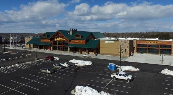 <p>The 82,000-square-foot Cabela's store is in the West Broad Marketplace shopping center in western Henrico County.</p>