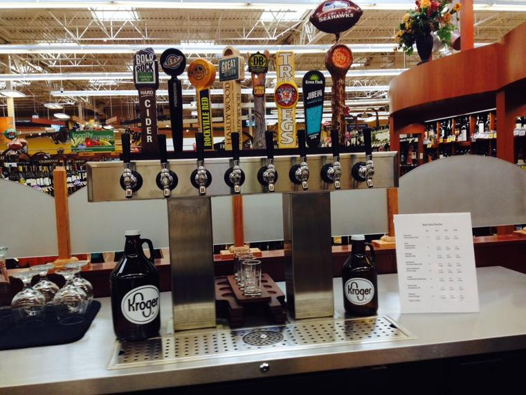 Kroger Goes Growler With 8 Beer Taps Richmond Times