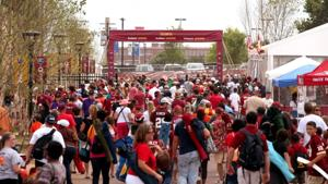 Redskins training camp crowds