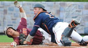 Hokies sweep twin bill