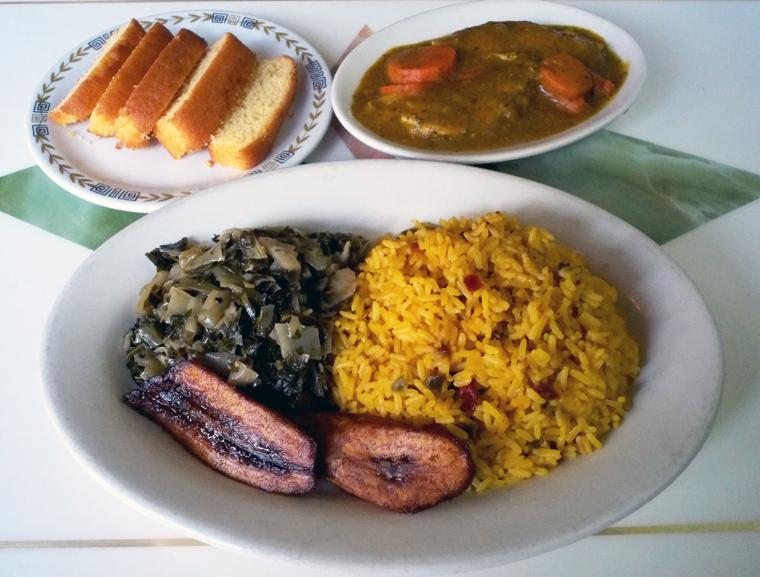 Dining out chef mamusu s african caribbean cuisine for Afro caribbean cuisine
