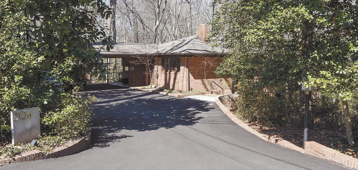 a home designed by the only true midcentury architect in