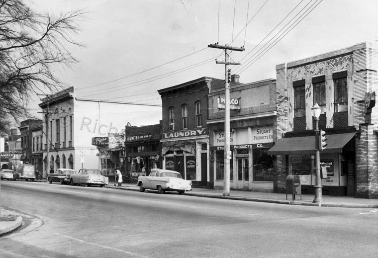 East Broad St Before Patrick Henry Park 1958 Richmond
