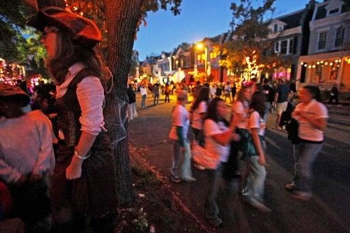 history of hanover ave  halloween