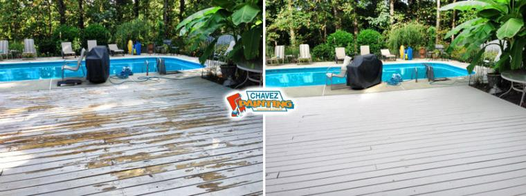 Chavez Painting Pool Deck