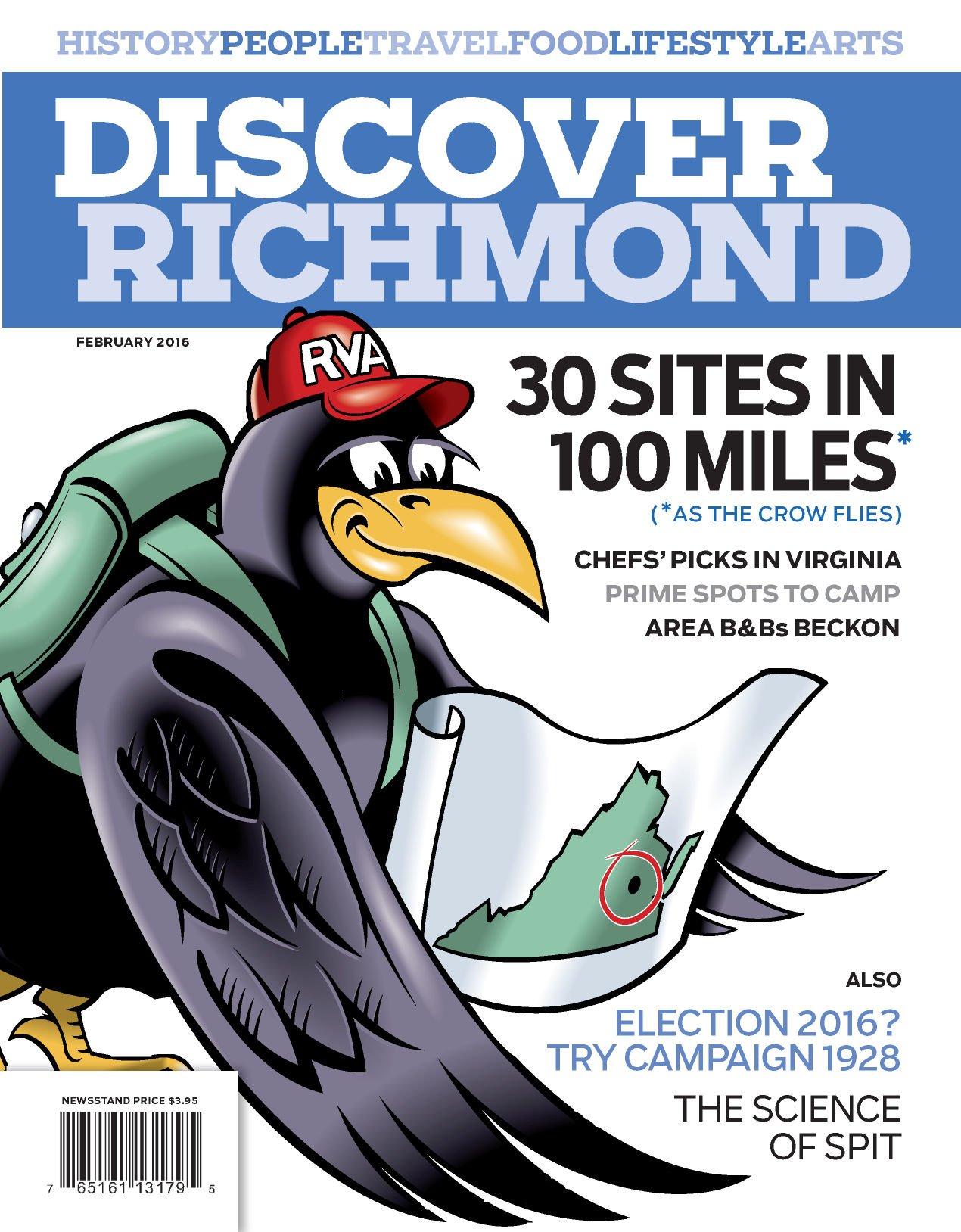 Discover Richmond: February 2016