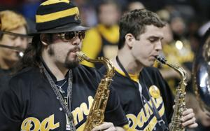 For VCU's pep band, the vibe is serious fun